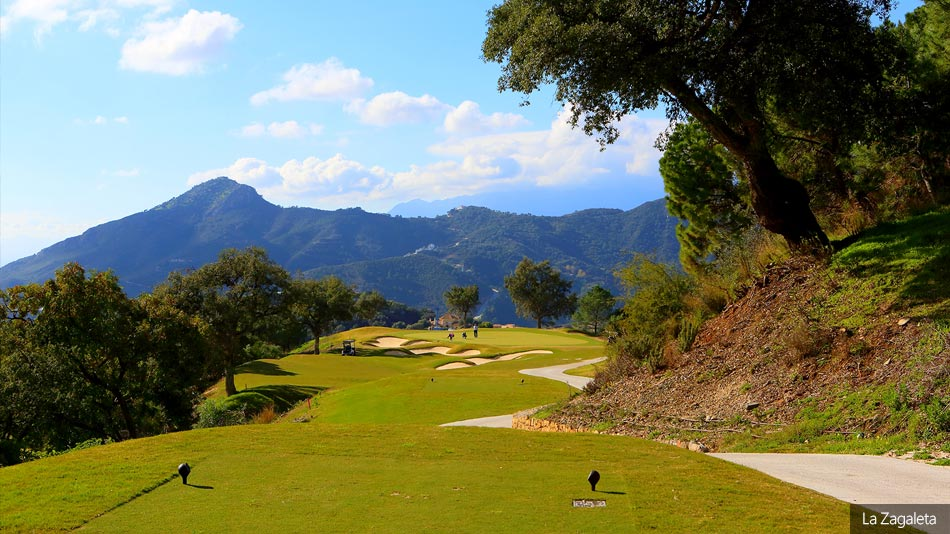 Golf in Benahavis : La Zagaleta