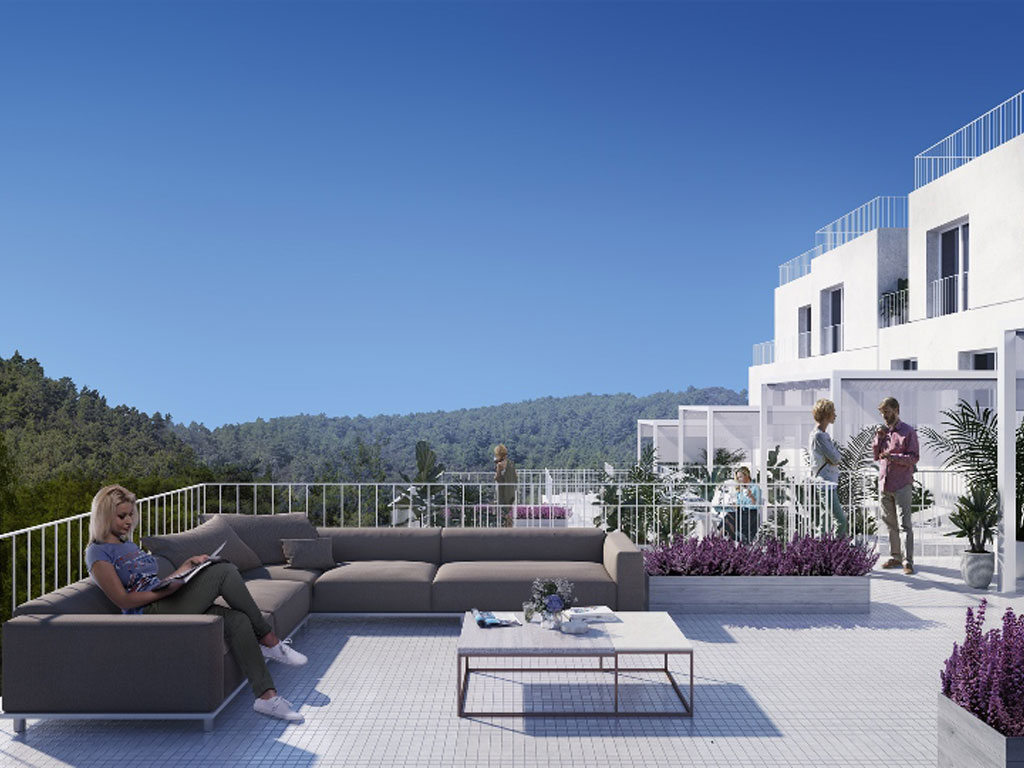 Mirador de Moraleda : New build townhouse for sale, Benahavis village