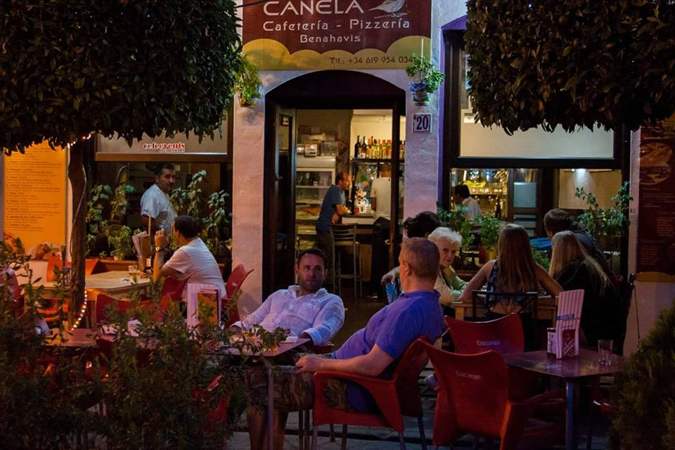 Bar pizzeria Canela, Benahavis