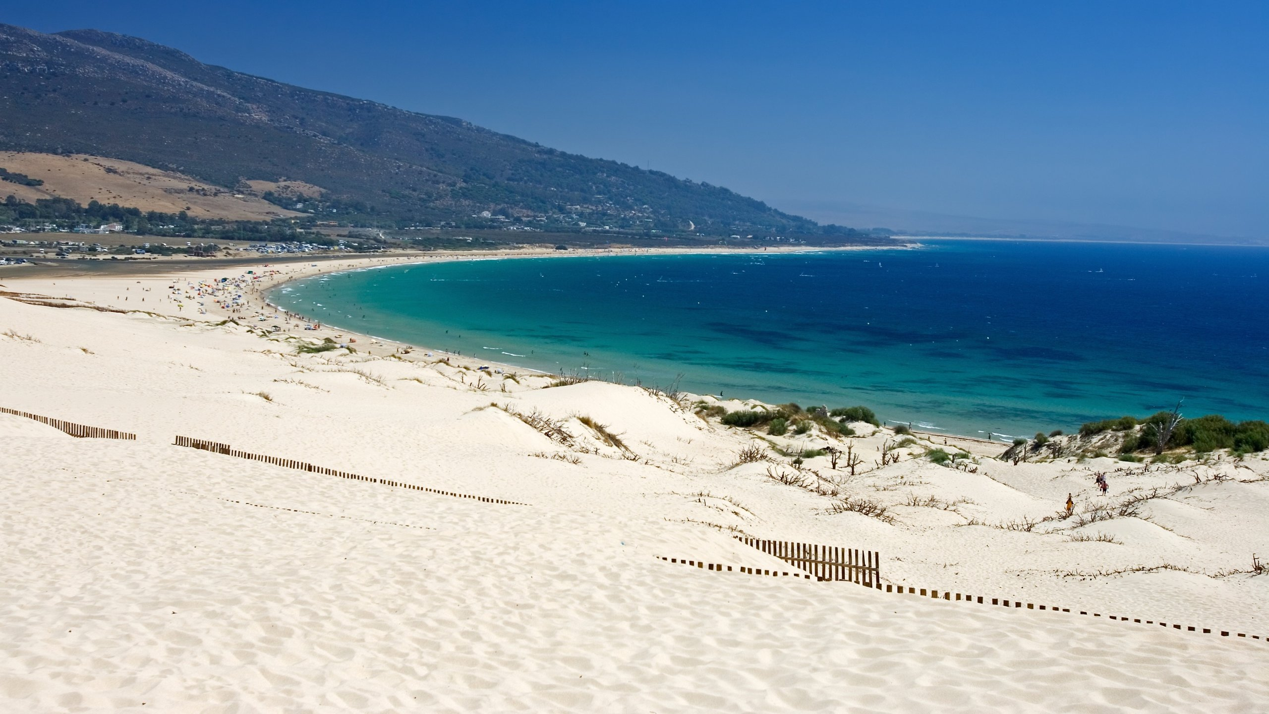 Tarifa, the beach
