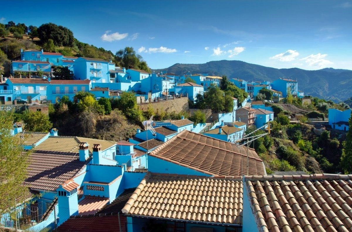 Juzcar, the Smurf village